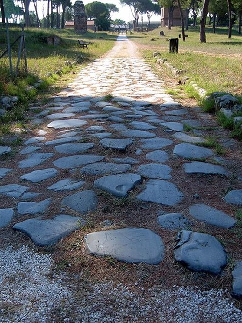 Archeologia A Cassino- tratto di via romana