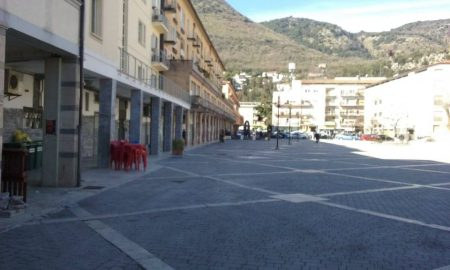 Piazza Labriola in Cassino