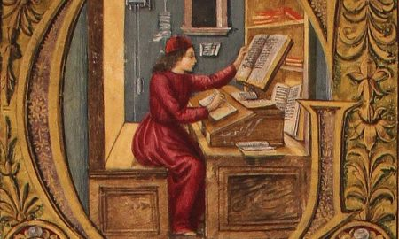 Riccardo di San Germano - miniatura di un Cronista medievale