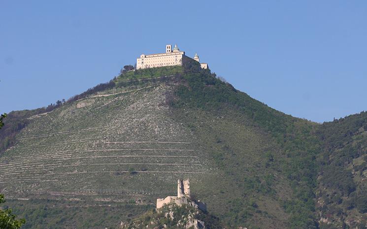 Papa Wojtyla Visita Montecassino