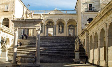 interno dell'Abbazia Di Montecassino