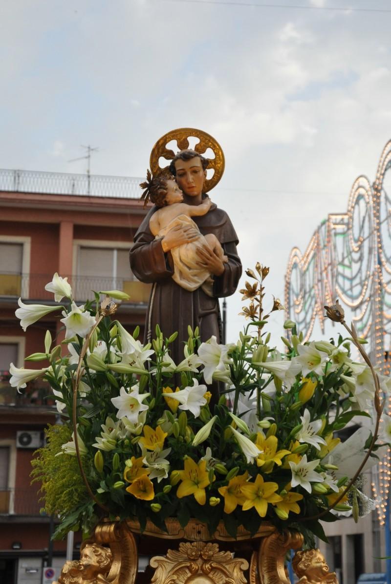 Processione del Santo in Chiesa