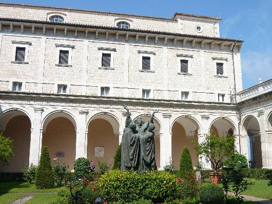 Abbazia Di Montecassino S. Benedetto Www.fotoweb.it