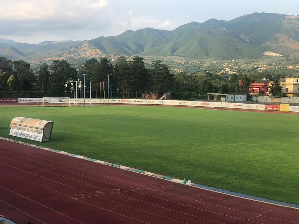 Cassino Calcio Stadio Salveti