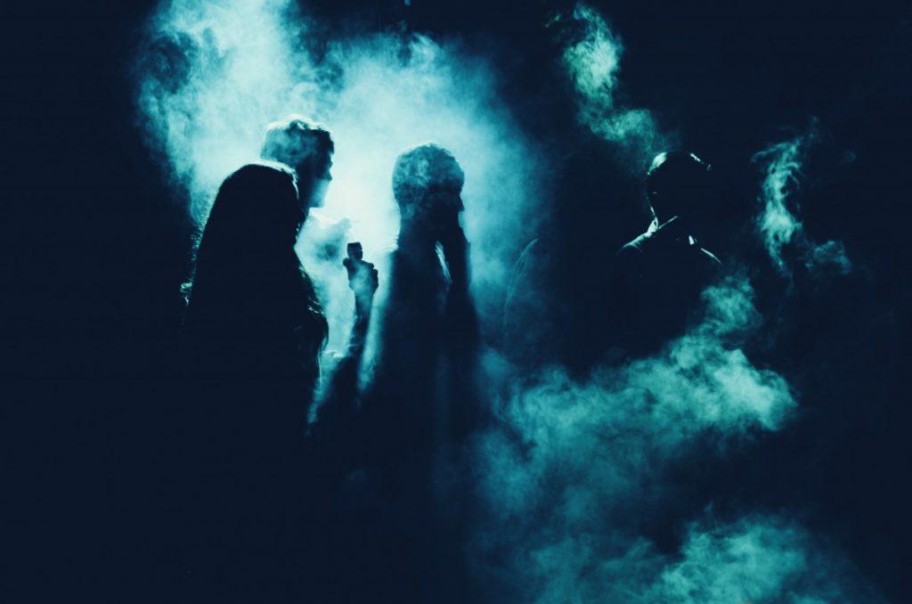 Casa Fantasma Sagome Spettrali