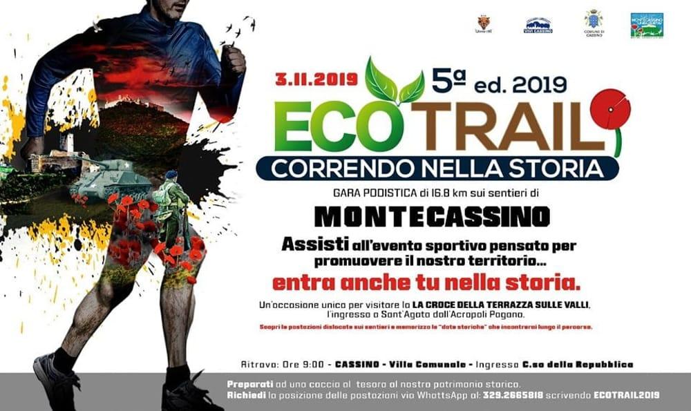 Ecotrail Cassino Locandina