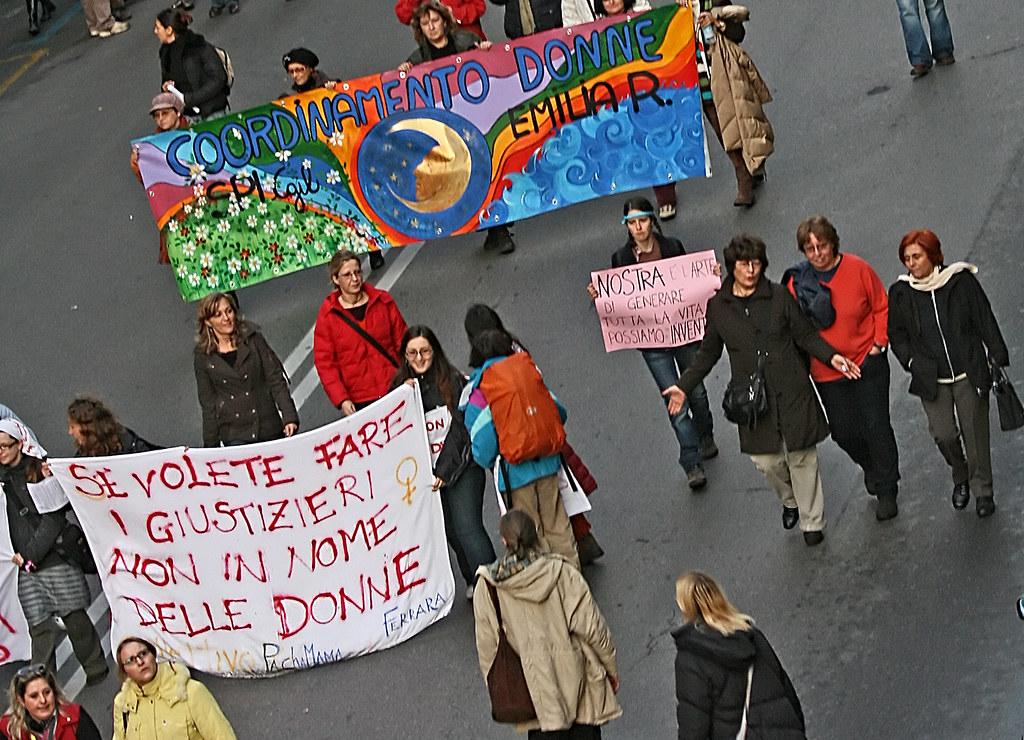 A Passo Di Donna Manifestazione