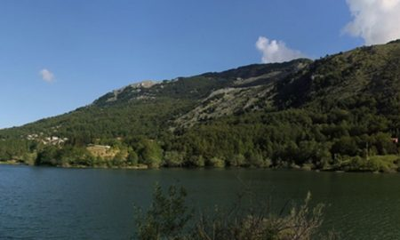 il lago Selva - il Lago dalla riva