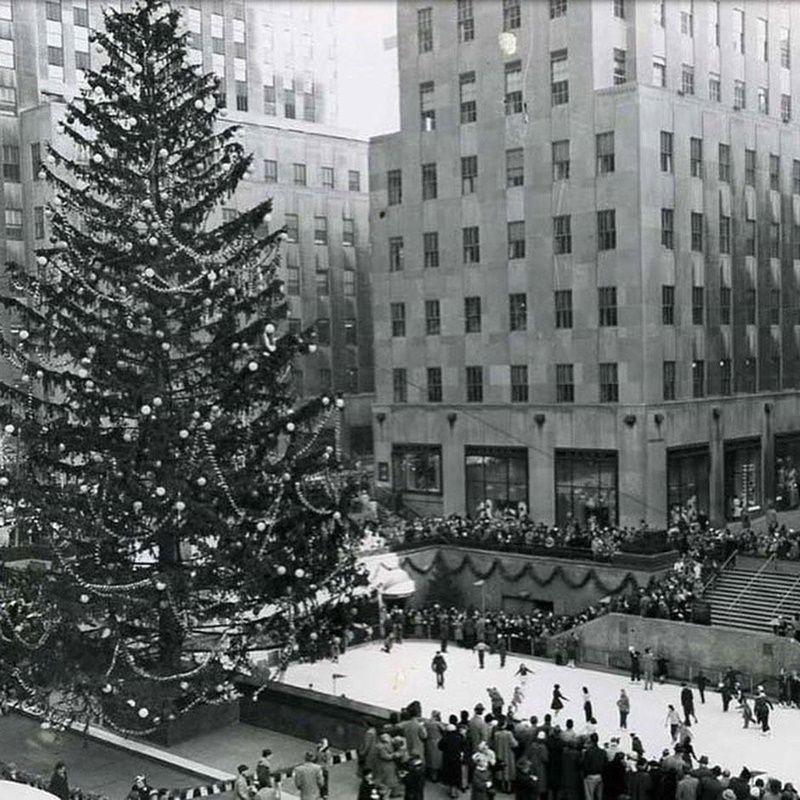 Rockefeller Center - Albero Di Natale A New York