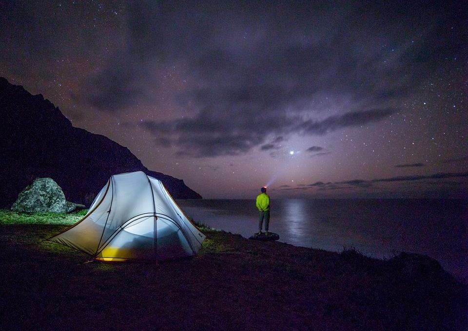 Il lago Selva - Camping notturno