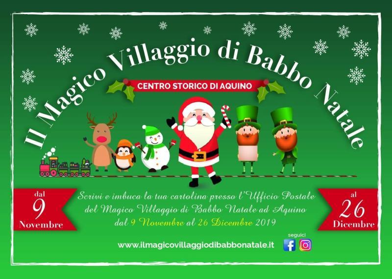 Cassinate Magico Villaggio Di Babbo Natale
