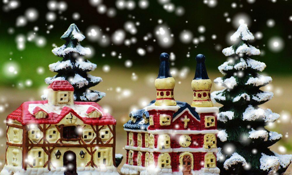 Magico Bosco Di Natale Atmosfera Natalizia