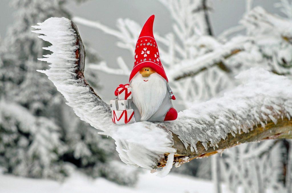 Magico Bosco Di Natale Santa Claus
