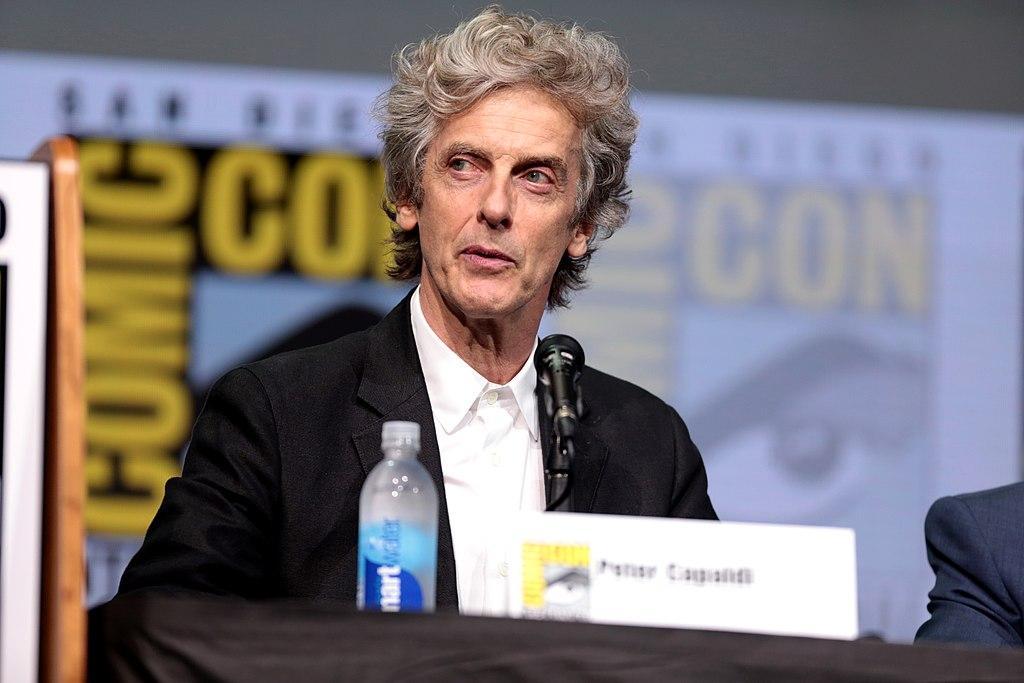 Peter Capaldi - una foto in conferenza stampa di Peter Capaldi