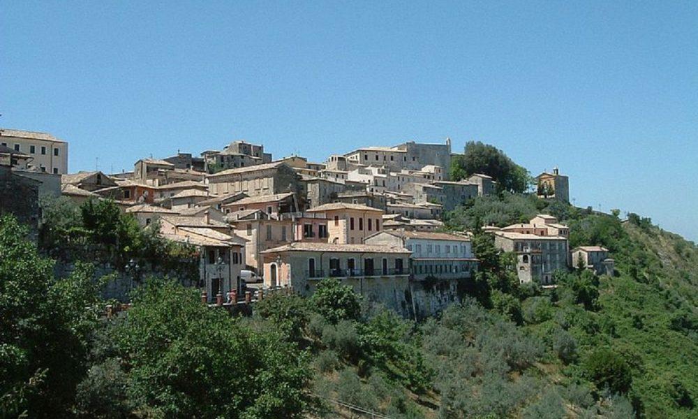 Capitale Italiana Della Cultura Panorama Arpino