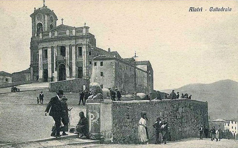 Basilica San Paolo Cartolina Inizio 900