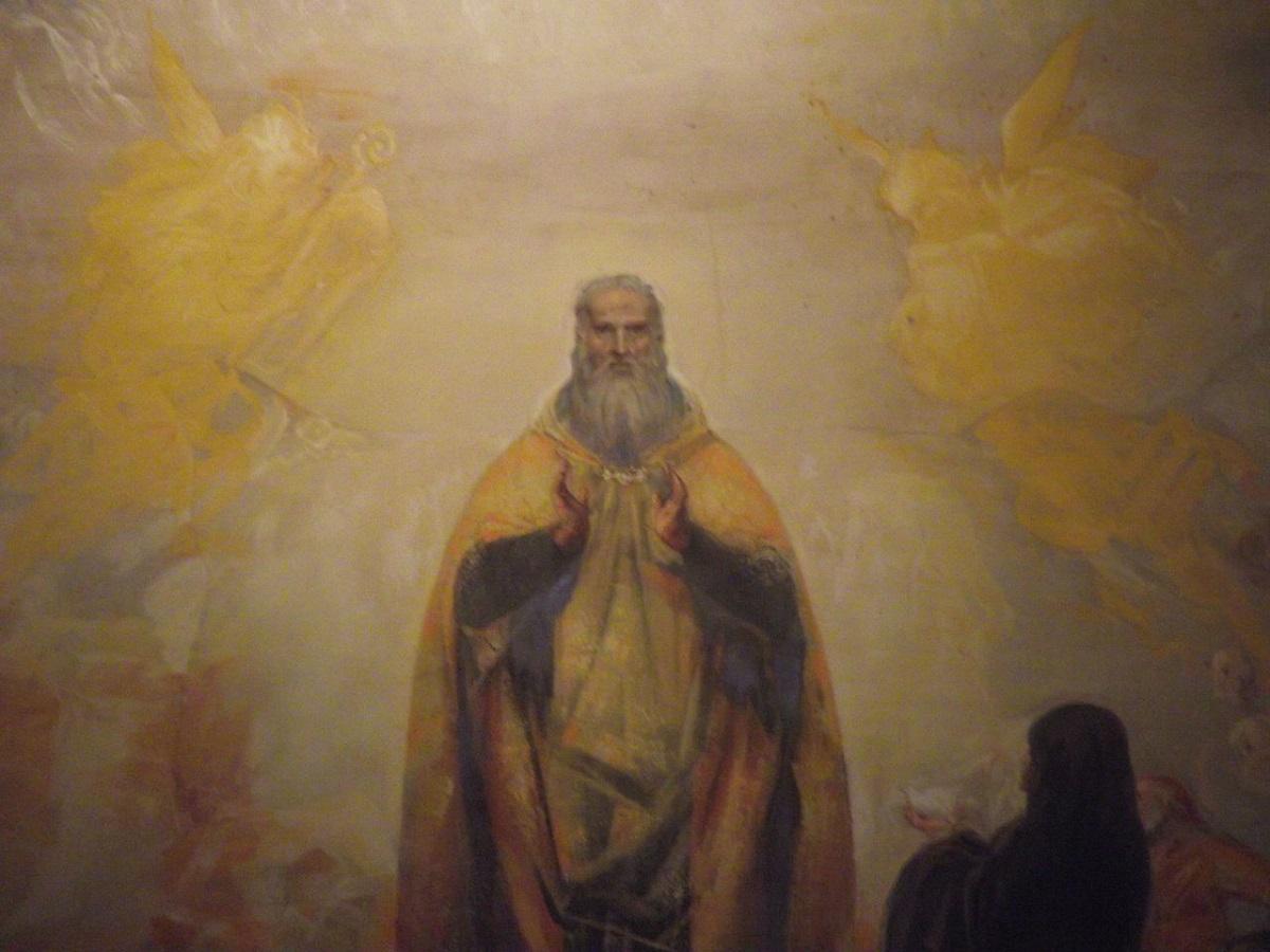 San Benedetto Dipinto Di San Benedetto