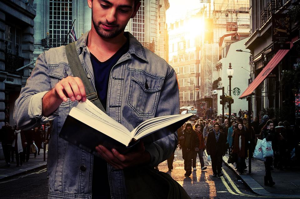 Giuseppe De Rita - Ragazzo con libro