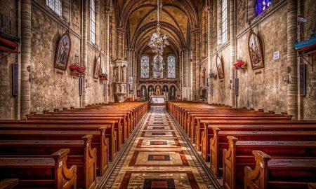 Messa In Chiesa Chiesa Vuota