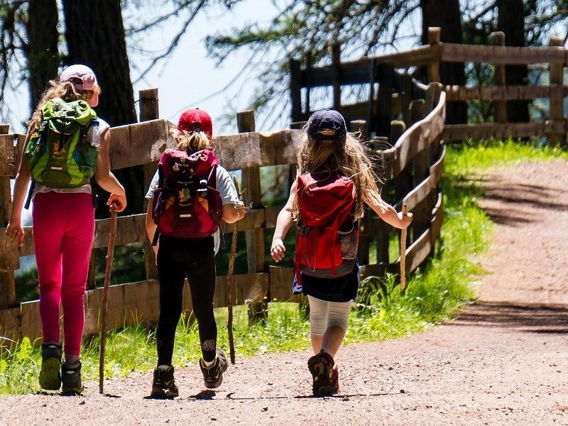 La Via Francigena Bambini Escursionisti