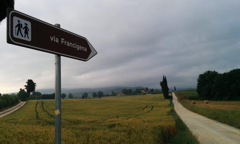 La Via Francigena Segnaletiche Sul Percorso