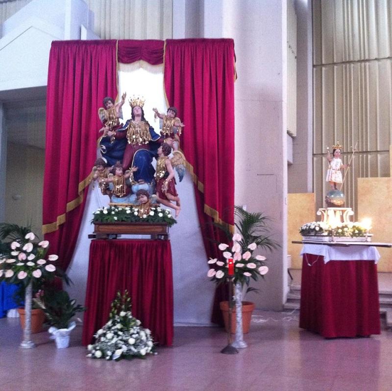 Penitenza Statua Della Madonna Assunta