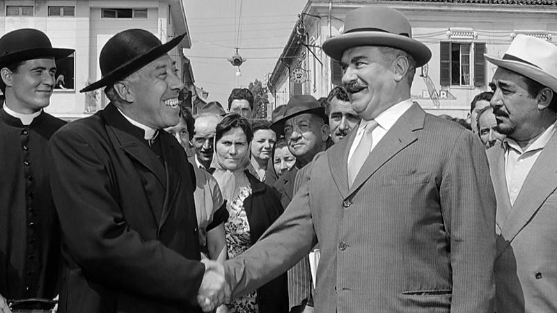Due patroni a Cassino - Don Camillo e Peppone Il Ritorno locandina