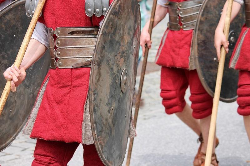 Antica Casinum Soldati Romani
