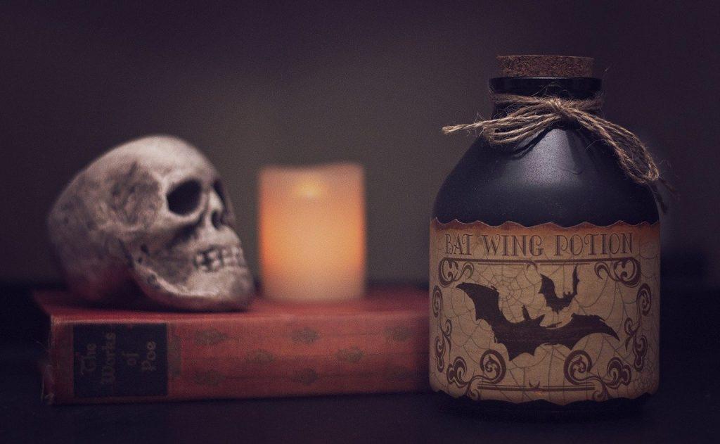 Halloween Teschio 1