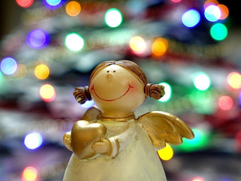 Regole Di Natale Angelo Con Cuore