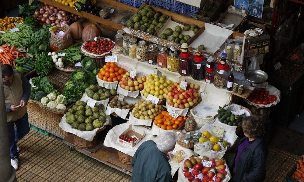 Mercato Coperto Frutta E Verdura