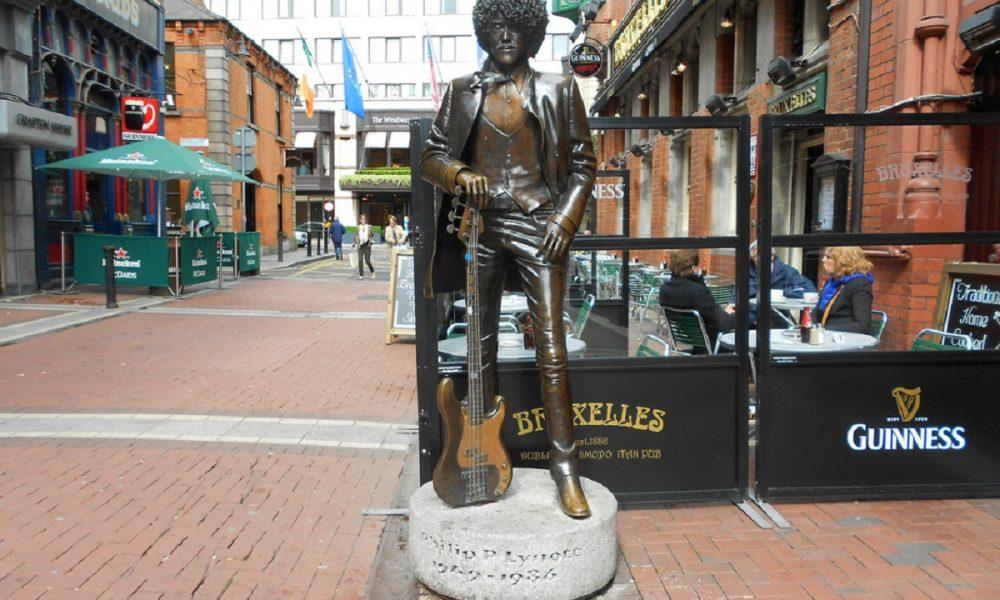 Phil Lynott Il Poeta Del Rock Statua Dublino