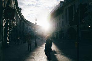 Camminare Passeggio In Città