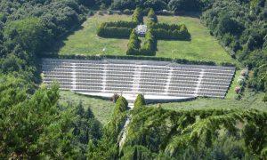 Cimitero Polacco Panoramica Aerea