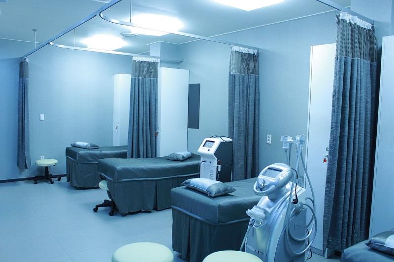 Ospedale Covid Free Reparto Vuoto
