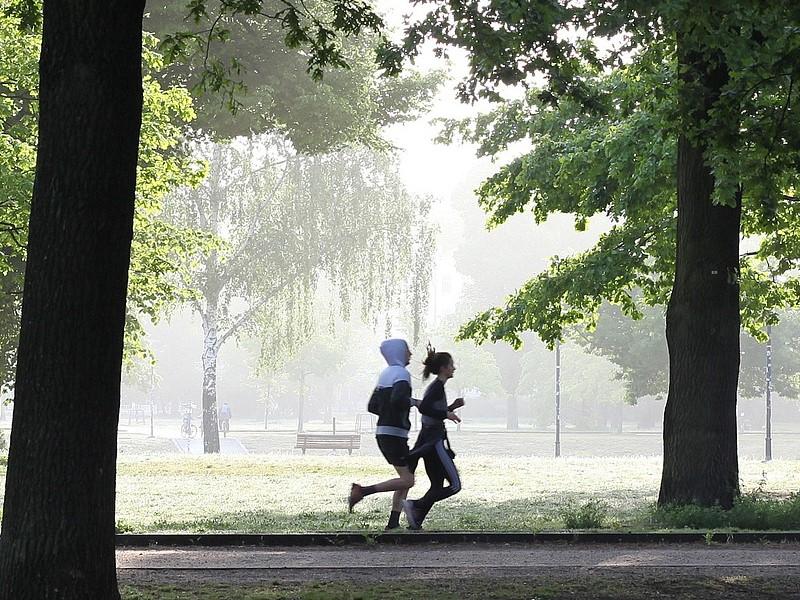 Un Break Sulla Via Del Garigliano Jogging