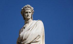 Dante Alighieri Statua