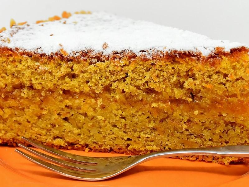 Carrotcake Pezzo Di Torta