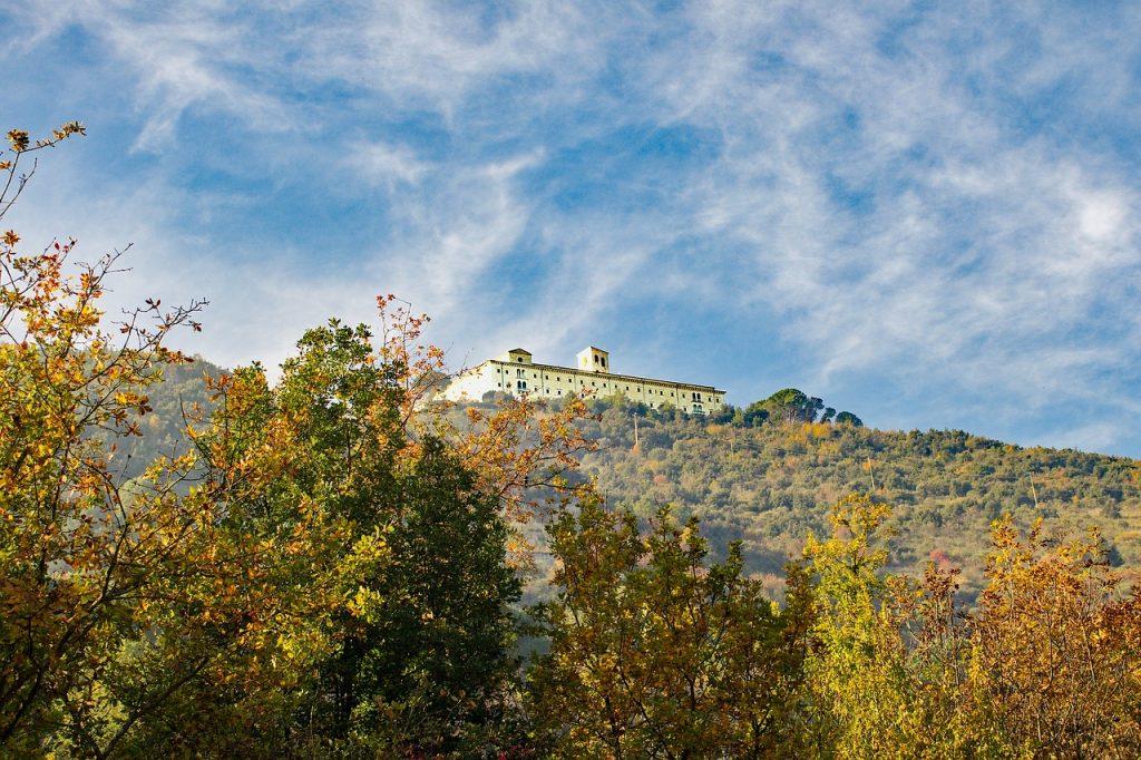 Montecassino E Dante Abbazia