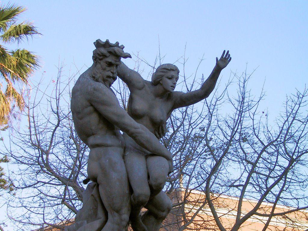 Il mito del ratto di Proserpina risale ad un antica leggenda siciliana.