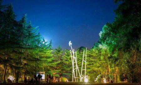 Parco Dell'Arte di notte