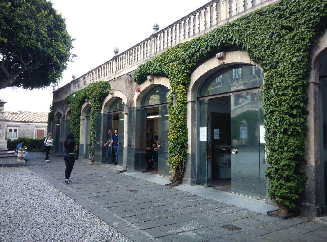 Villa Cerami - aula studio ricavata dalle scuderie