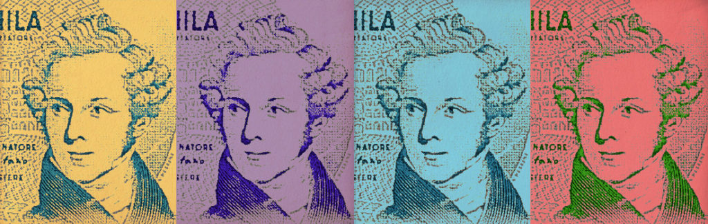 A partire dal 1985 fino all'entrata in vigore dell'Euro, la banconota italiana da 5.000 Lire ha mostrato la raffigurazione del volto di Vincenzo Bellini.