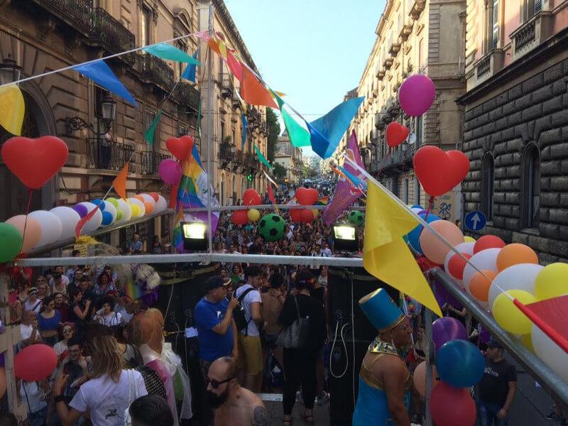 Gay Pride a Catania