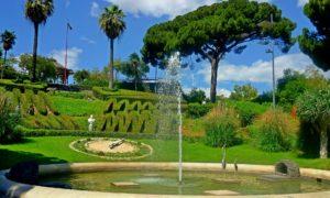 Cinque itinerari verdi: Villa Bellini, Catania