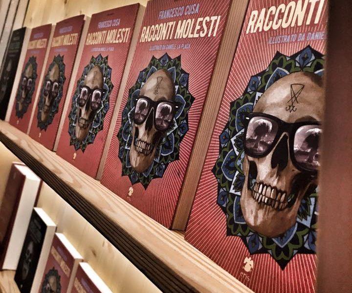 Presentazione del libro Racconti Molesti di Francesco Cusa alla libreria Vicolo Stretto