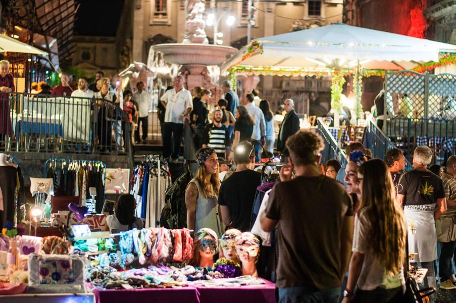 Precedente edizione del Pop Up Market Sicily