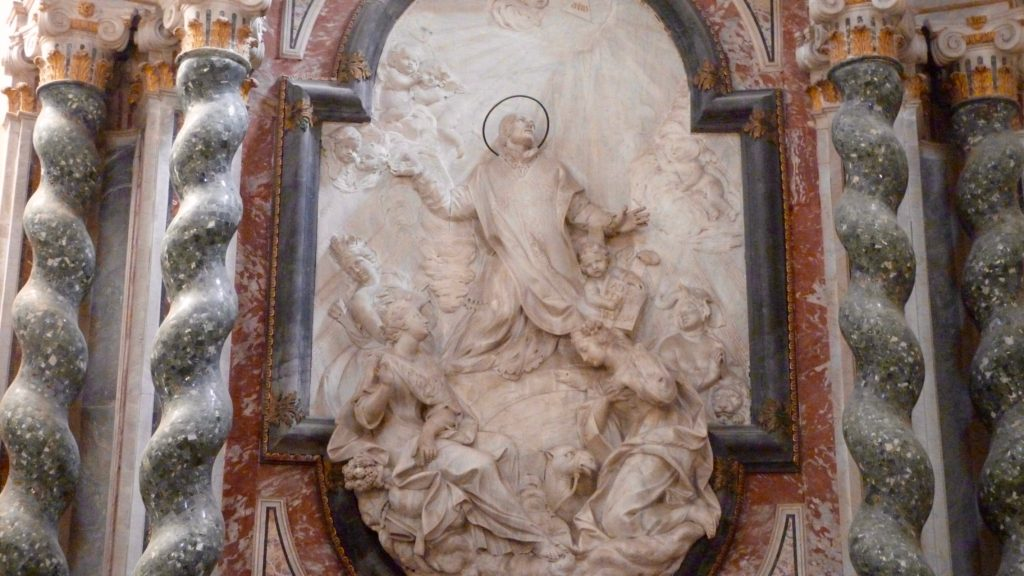 hiesa di san francesco borgia via dei crociferi catania