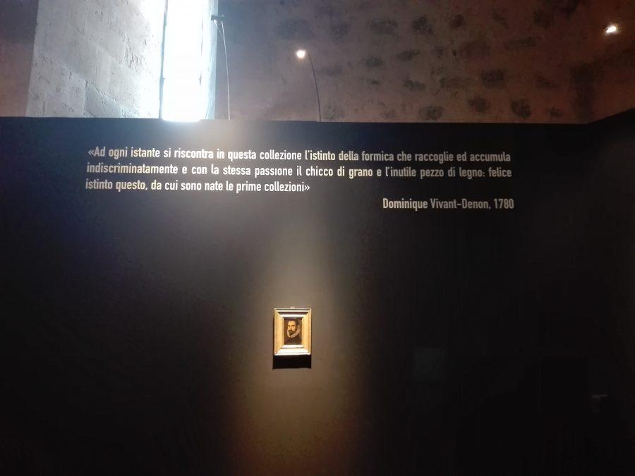 L'opinione di Dominique Vivant Denon dopo aver visitato il museo dei monaci benedettini