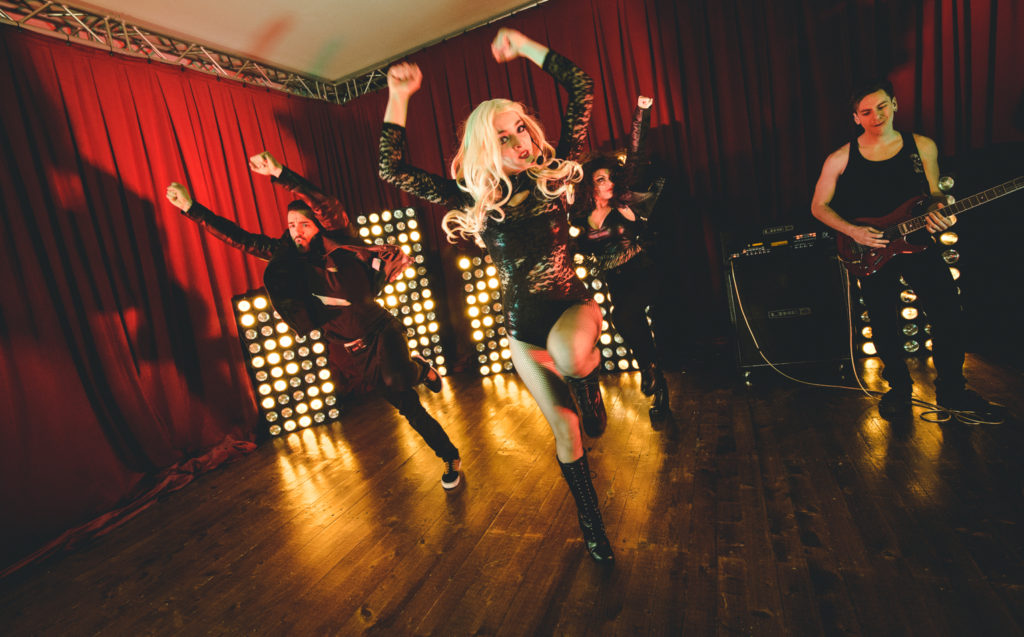 Electric Romance continuano periodicamente ad ampliare il loro repertorio, che abbraccia la carriera di Lady Gaga dal suo debutto fino al suo ultimo album in studio